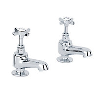 Westminster Bath Taps - Chrome