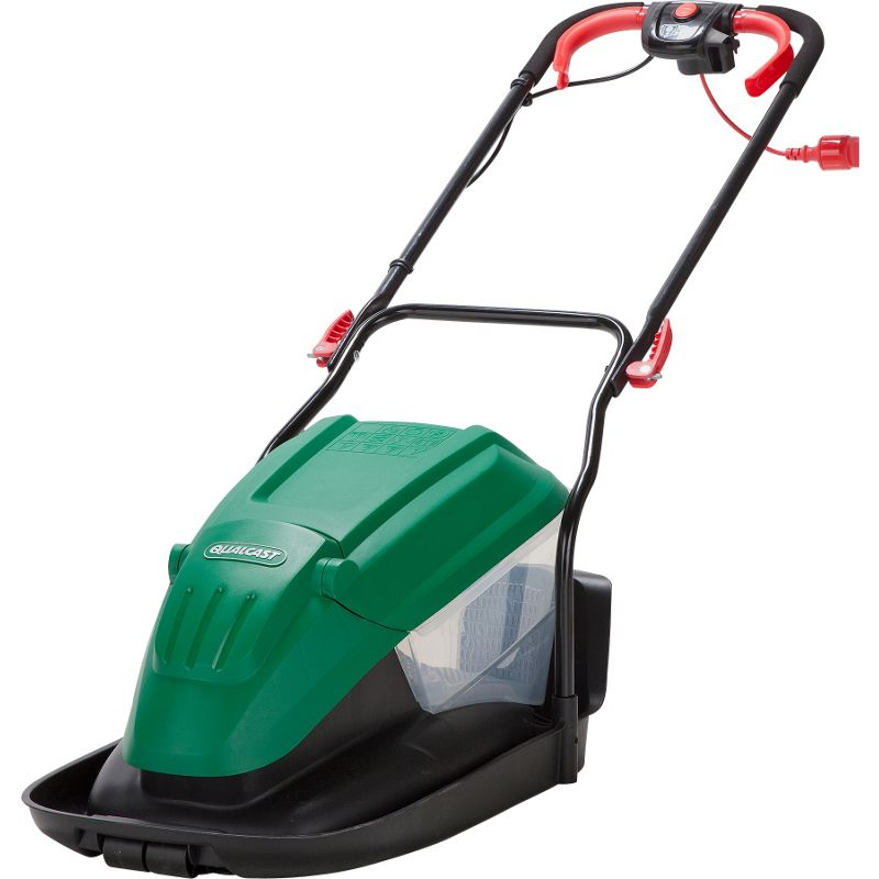 Qualcast 1700w Electric Hover Collect Lawn Mower 33cm