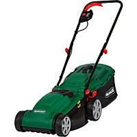 Qualcast Electric Rotary 1300W Lawn Mower and Grass Trimmer