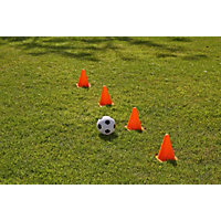 Chad Valley Football and Cones Set.
