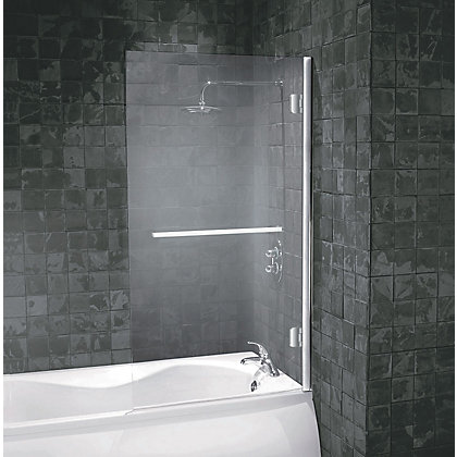 Image for Aqualux Frameless Square Shower Screen - 8mm glass from StoreName