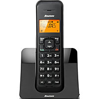 Binatone Luna Black Cordless Telephone - Single.