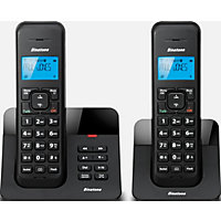 Binatone Luna Cordless Telephone with Answer Machine - Twin.