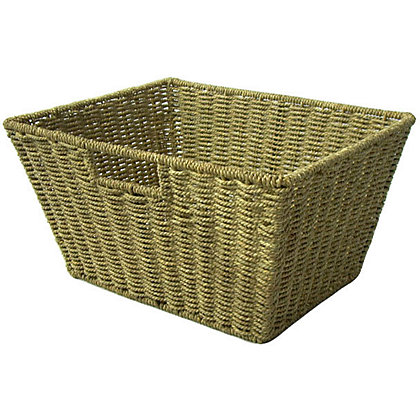 Image for Stackable Seagrass Basket - Natural from StoreName
