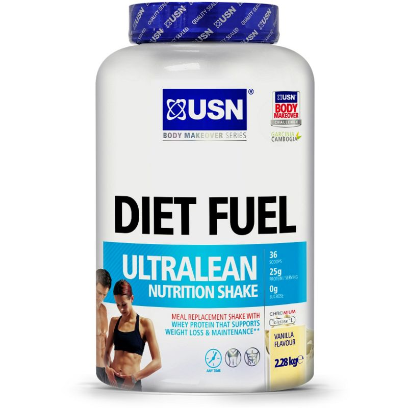 USN Diet Fuel Weight Loss Shake - Chocolate. - Clearance sale, save 20 ...