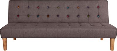 disco clic clac sofa bed grey