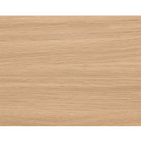 Schreiber Fitted 3 Drawer Front Door - Light Oak Shaker