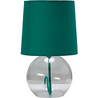 ColourMatch Flexi Glass Lamp - Aqua.