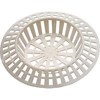 Bath And Sink Strainer White