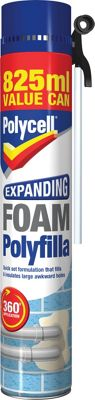Polycell Expanding Foam 825ml