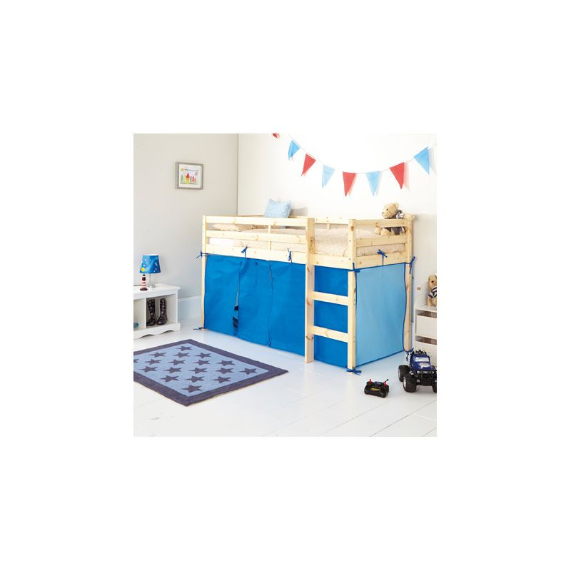 Blue Tent For Shorty Mid Sleeper Bed Frame