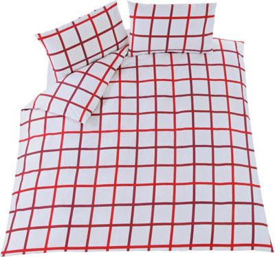 Image of Fraser Red Twin Pack Bedding Set - Doubl