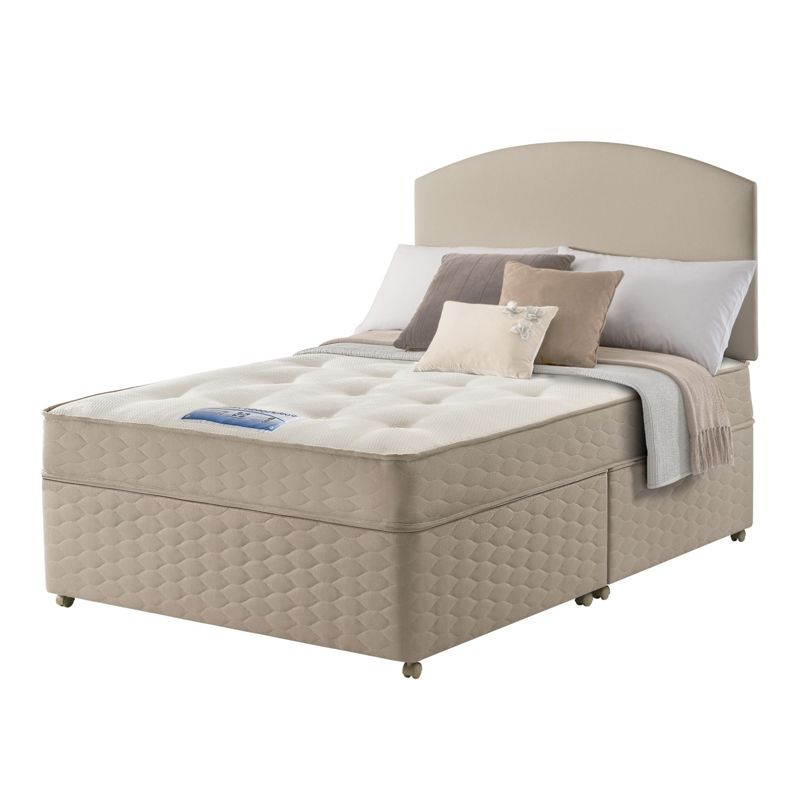 Sealy relax backcare superking mattress for Divan relax