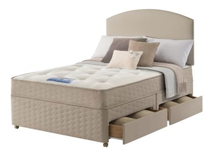 Sealy king mattress bed for Divan unwind