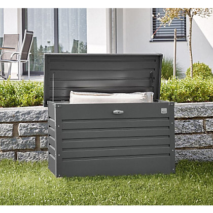 Image for Biohort Leisure Time Grey Garden Storage Box 100 - 3ft x 1ft 3in from StoreName