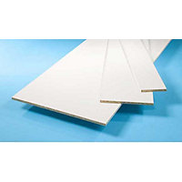 Furniture Board - White - 1830 x 229 x 15mm