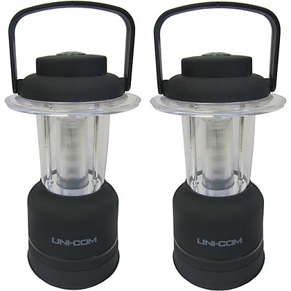 Image for Uni-Com Twin Pack LED Dimming Lanterns from StoreName