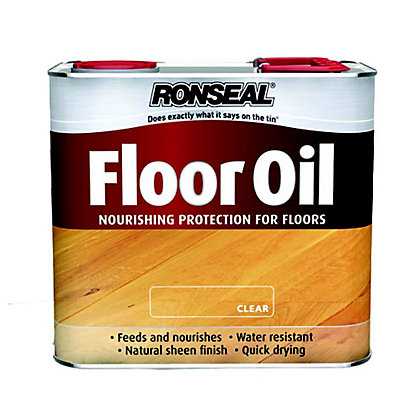 Image for Ronseal Floor Oil Clear - 2.5L from StoreName