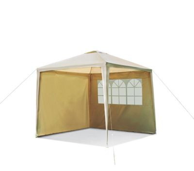 Square Garden Gazebo with Side Panels.