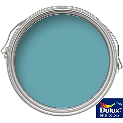 Image for Dulux Travels in Colour Teal Facade Matt Tester Paint - 50ml from StoreName