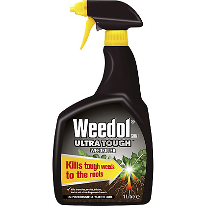 Image for Weedol Gun! Ultra Tough Ready To Use Weedkiller - 1L from StoreName