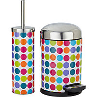 ColourMatch Slow Closing Bin & Brush Set