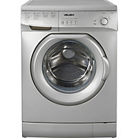 Bush F841QS 8KG 1400 Spin Washing Machine - Silver/Exp Del.