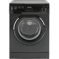 Bush F841QB 8KG 1400 Spin Washing Machine - Black/Exp Del.