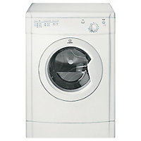 Indesit IDV75W Vented Tumble Dryer - White/Exp Del.