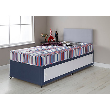 Forty winks bibby basic single mattress for Henry divan bed