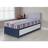 Forty Winks Bibby Basic Single Slide Store Divan Bed.