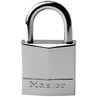 Master Lock Padlock - Nickel Plated - 30mm