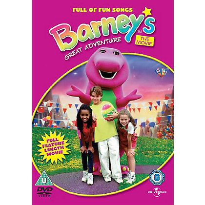 Image for Barneys Great Adventure DVD from StoreName