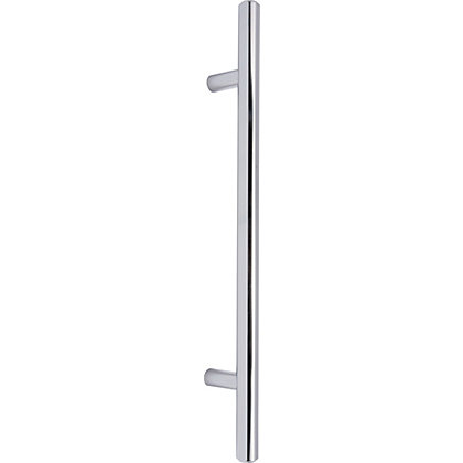Image for T-Bar Door Handle - Polished Chrome - 160mm from StoreName