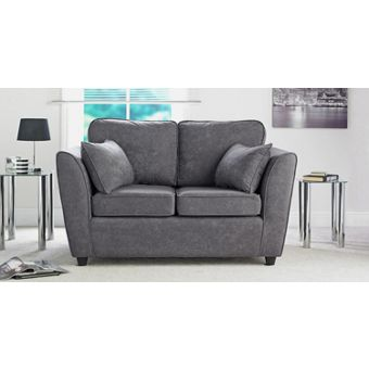 Charcoal foam living room furniture for Living room ideas homebase