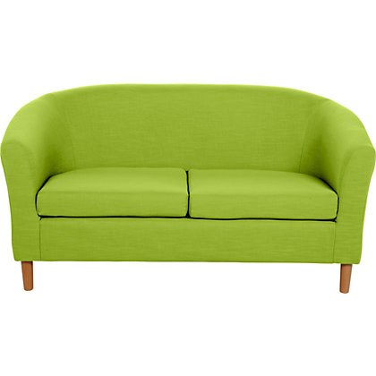 Colourmatch Cuba Futon Sofa Bed With Mattress Apple Green