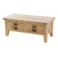 Traditional Wooden Coffee Table Homebasecouk