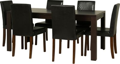 Penley Oak Extendable Dining Table and 6 Chocolate Chairs  : 332577RZ001largeampwid800amphei800 from www.247homechic.co.uk size 800 x 800 jpeg 35kB