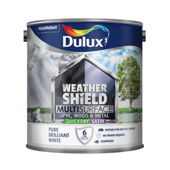 Dulux water based paint - Weathershield exterior paint system ...