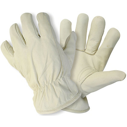 Image for Briers Lined Hide Gardening Gloves - Large from StoreName