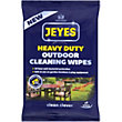 Jeyes Outdoor Cleaning Wipes - Pack of 9
