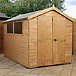 Mercia Premium Shiplap Apex Wooden Shed - 10ft x 6ft