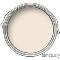 Sanctuary Eggshell Paint - Candlelight - 750ml