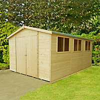Homewood Wooden Garden Workshop - 15ft x 10ft