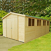 Homewood Wooden Garden Workshop - 20ft x 10ft