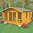 Homewood Beaulieu Wooden Summer House - 11ft x 13ft 7in