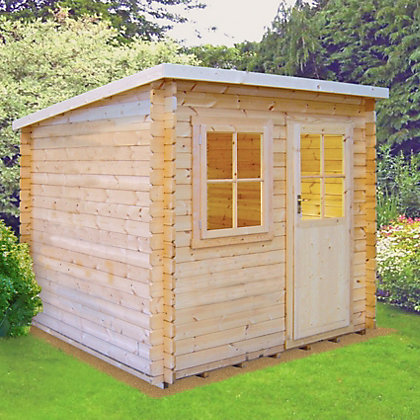 Image for Homewood Dean Wooden Summer House - 9ft 11in x 7ft 11in from StoreName