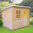 Homewood Dean Wooden Summer House - 9ft 11in x 7ft 11in