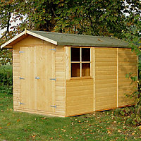 Homewood  Guernsey Shiplap Apex Shed - 10ft x 7ft