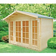 Homewood Epping Wooden Log Cabin - 10ft 10in x 8ft 10in